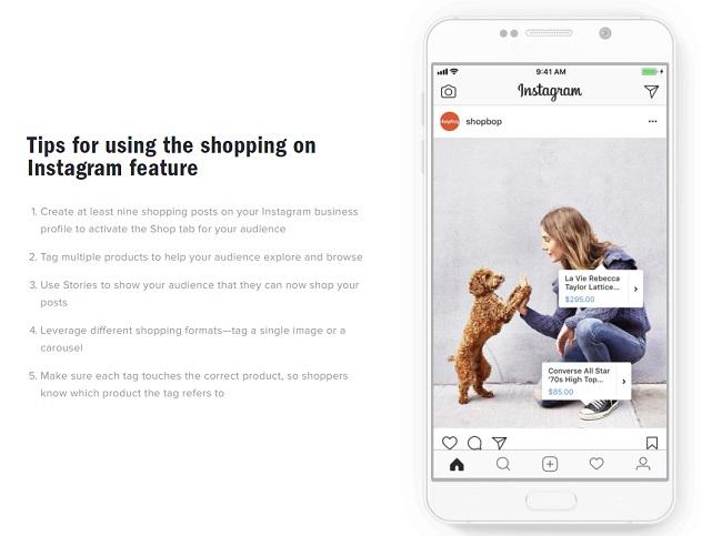 Instagram abre sus 'etiquetas de compras' a más empresas | Social Media Today