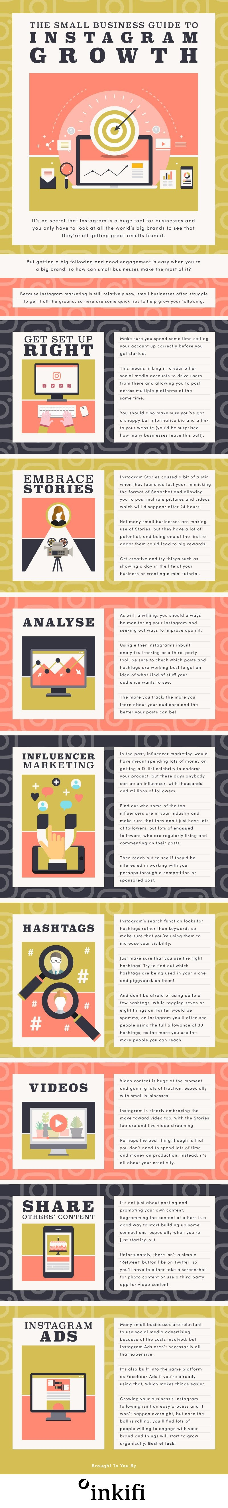 The Small Business Guide to Instagram Growth [Infographic] | Social Media Today
