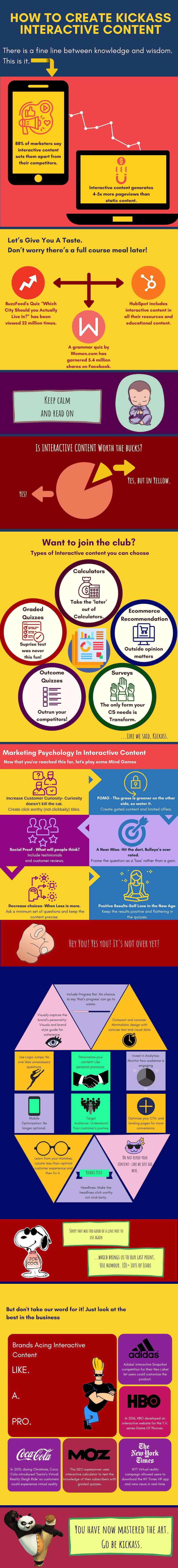 Infographic looks at how to create better interactive content