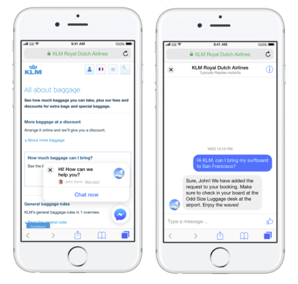 Facebook Launches New Customer Chat Website Plugin as Part of Messenger Platform 2.2 | Social Media Today