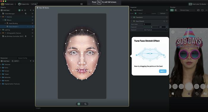 Snapchat Lens Studio help