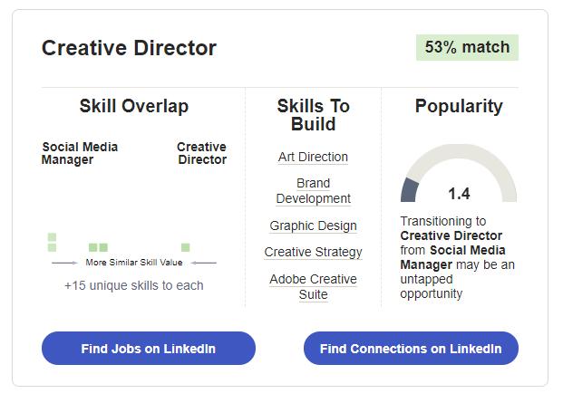 LinkedIn Career Explorer