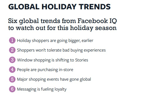 Facebook Holiday Marketing Guide 2019