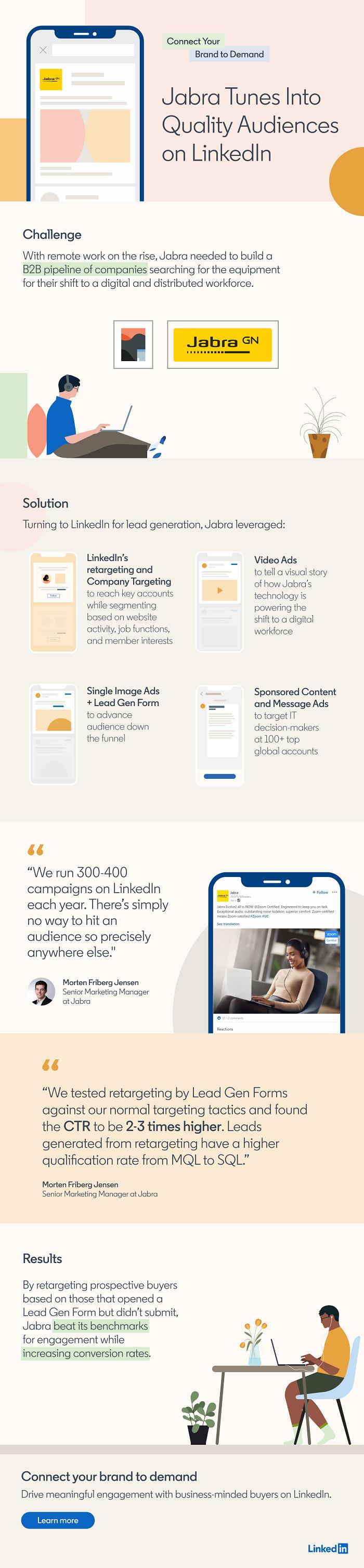 LinkedIn Jabra case study