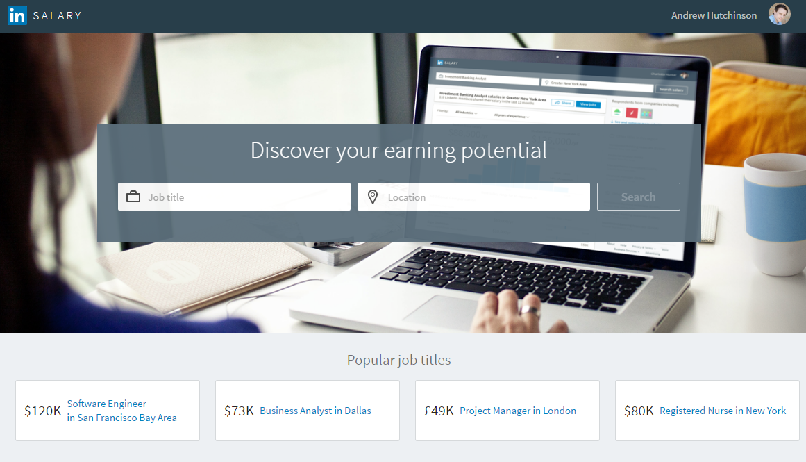 LinkedIn's Rolling Out Salary Insights on All Job Posts | Social Media Today