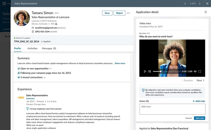 LinkedIn Video Connect