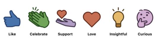 LinkedIn Support Reaction
