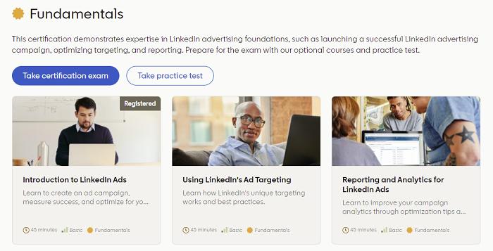 Certified for LinkedIn