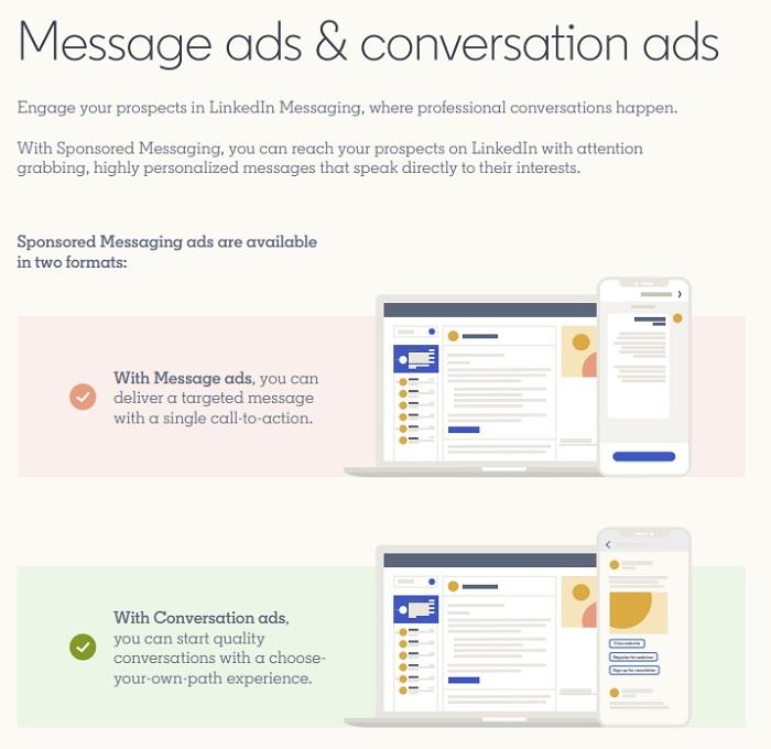 Guía de anuncios de marca de LinkedIn