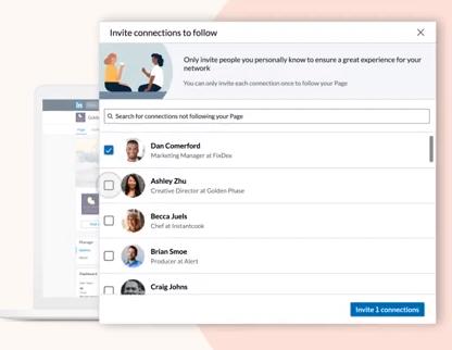LinkedIn invites