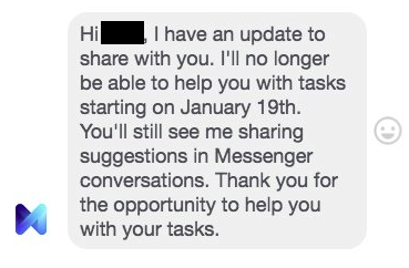 Facebook Announces the Closure of its Ambitious 'M' Personal Assistant Project | Social Media Today