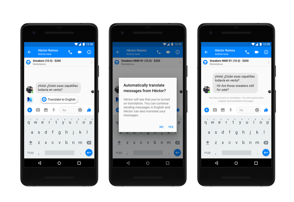 Facebook Adds New Translation Tools to Messenger, Updates Bot Response Capabilities | Social Media Today