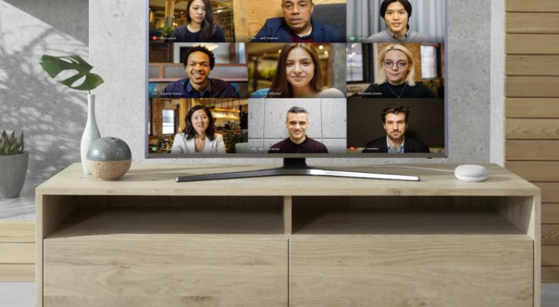 Google Meet on TV