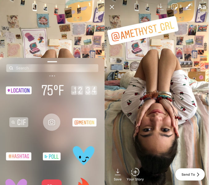 Instagram Adds 'Focus' Mode for Selfies, Mention Stickers for iOS | Social Media Today