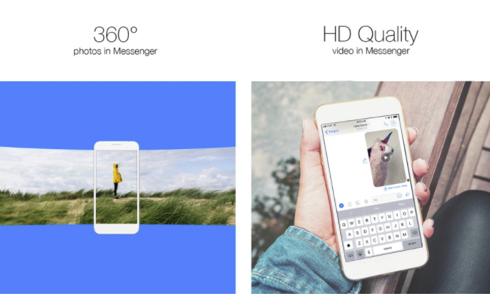 Facebook Adds 360 Photos and HD Videos to Messenger, Increasing Sharing Options | Social Media Today