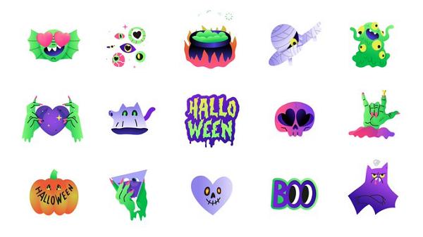 Messenger Halloween