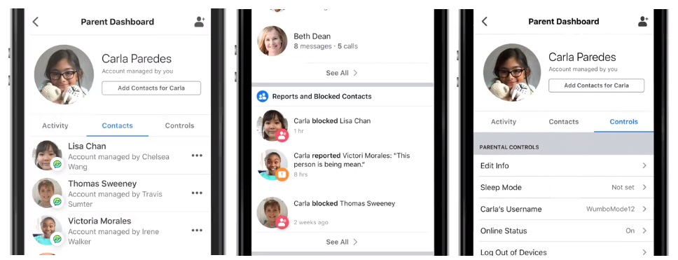 Facebook Messenger Kids Parents Portal