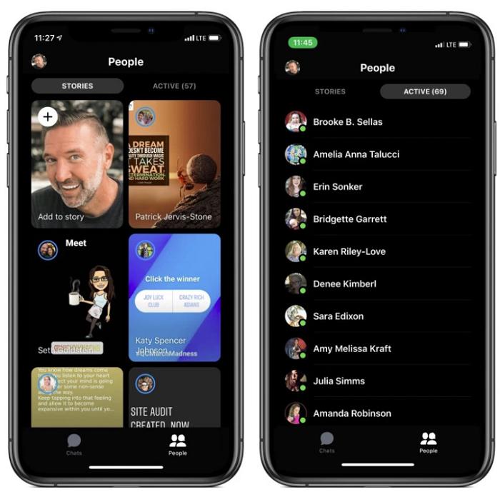 Facebook Messenger redesign