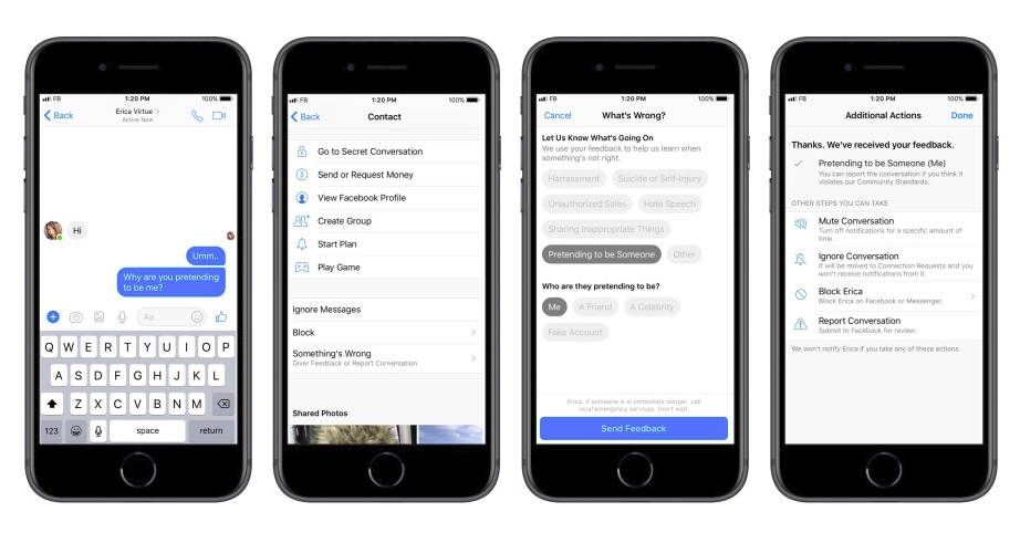 Facebook makes it Easier to Report Concerning Conversations in Messenger | Social Media Today
