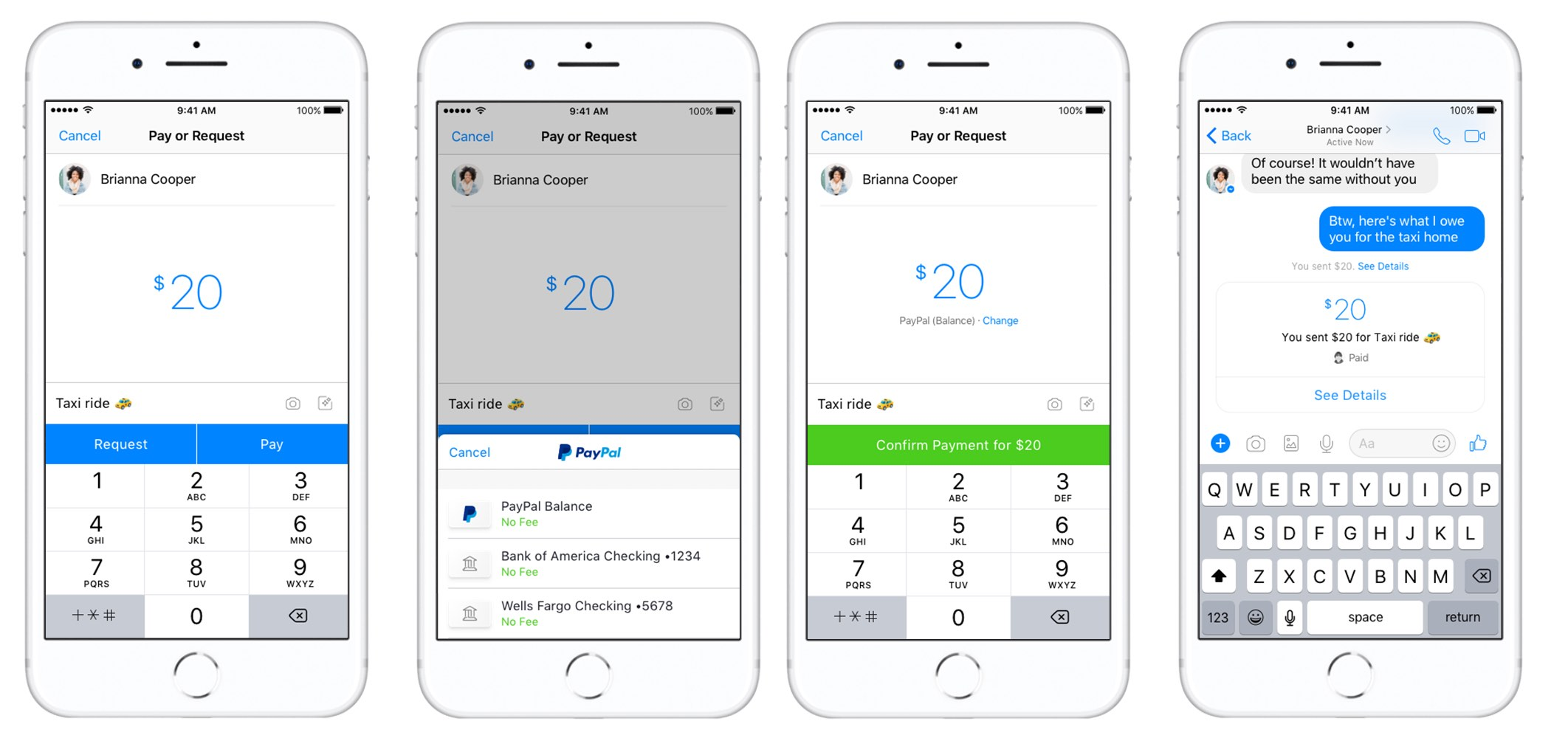 Facebook's Adding PayPal as a New Peer-to-Peer Payment Option in Messenger | Social Media Today