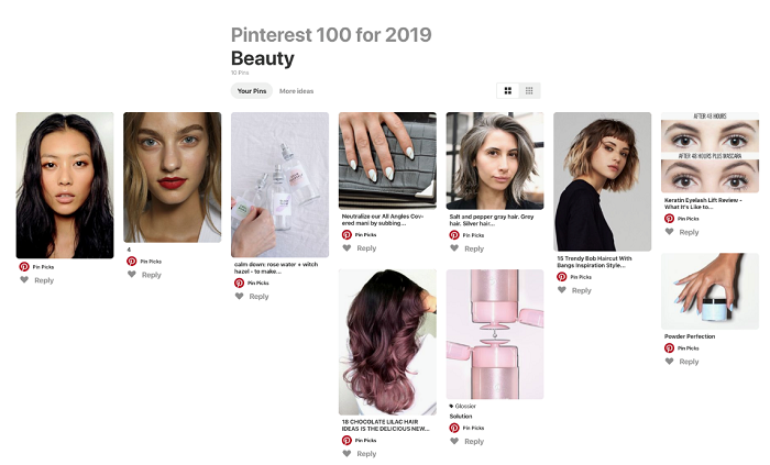 Pinterest Top Trends 2019