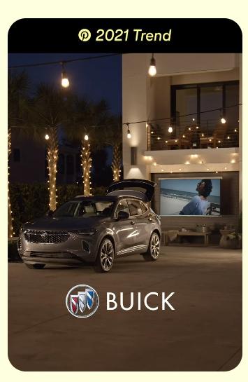 Buick Pinterest example