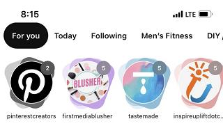 Pinterest story pins