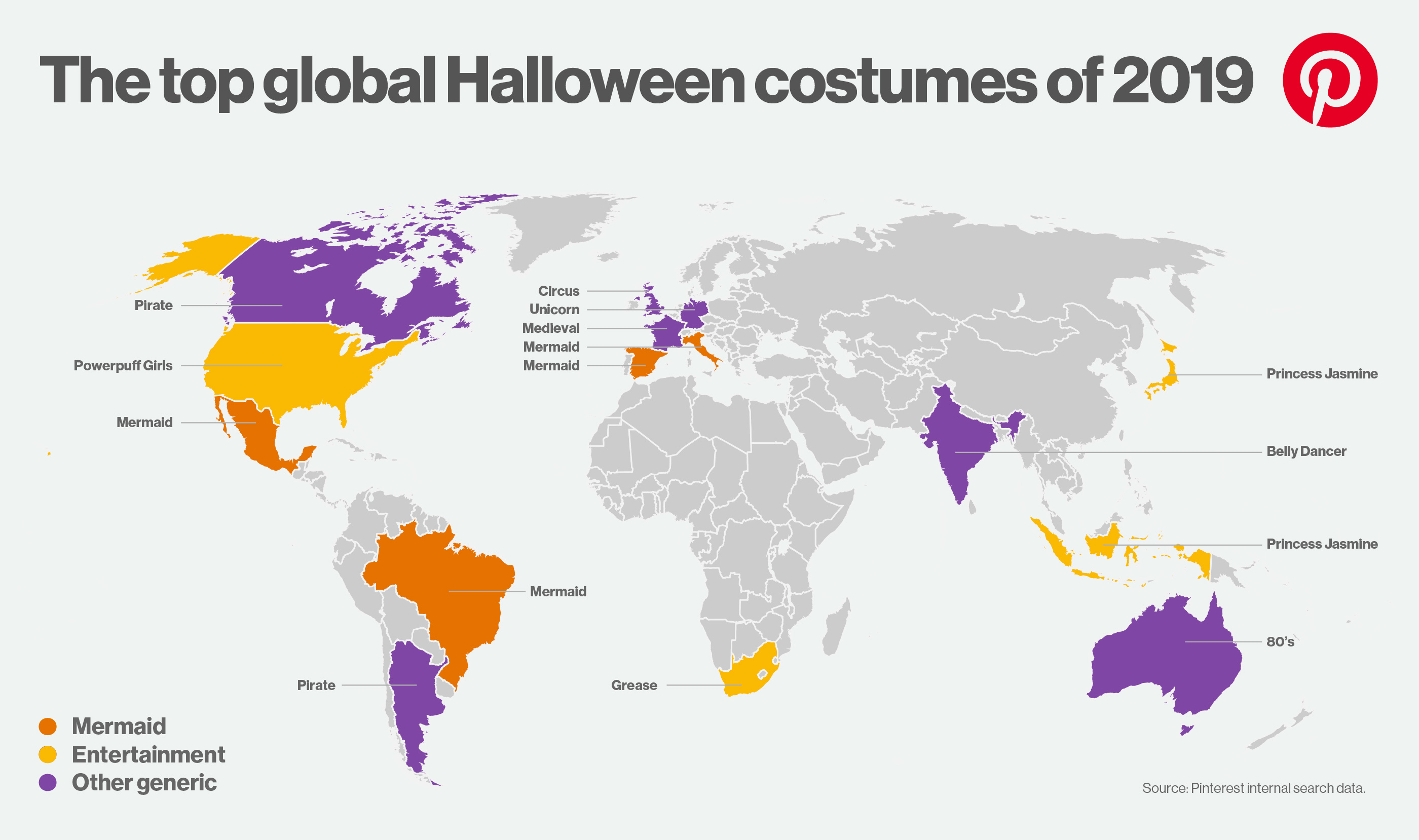 Pinterest Halloween trends global