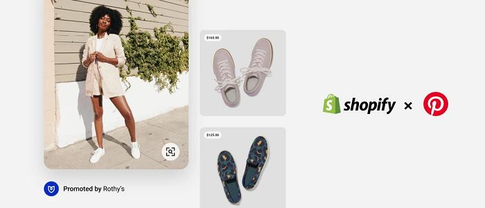 Pinterest x Shopify