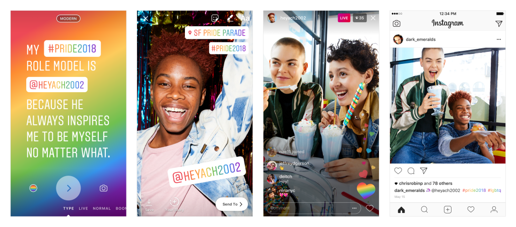 Facebook, Instagram and Twitter Add New Tools to Celebrate Pride Month | Social Media Today