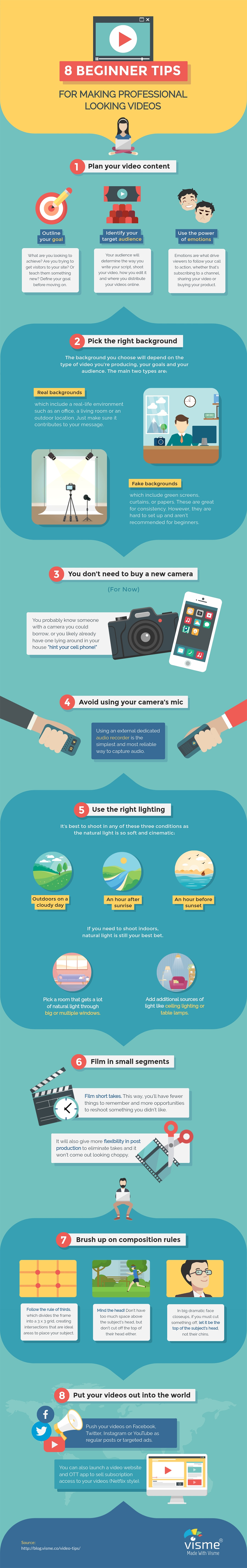 Key tips for creating effective video content [infographic]