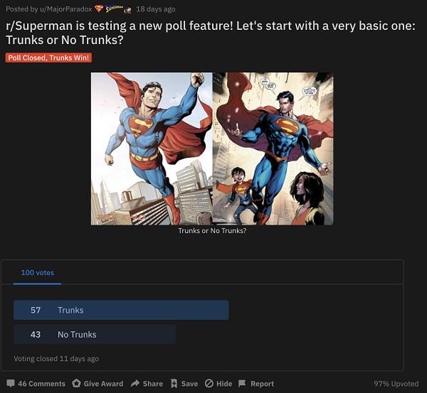 Reddit Polls