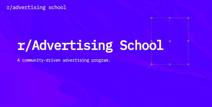 Reddit Advertising School