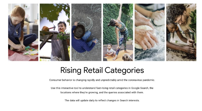 Google Rising Retail Trends
