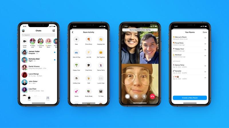 Messenger Rooms update