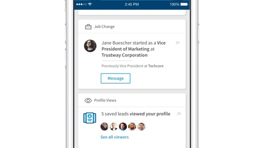 LinkedIn Announces Updates to Sales Navigator App, New Outlook Integration | Social Media Today