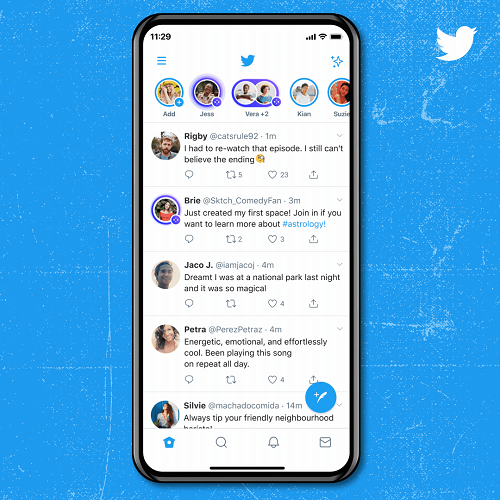 Twitter Spaces discovery