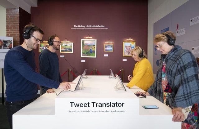 Scottish Twitter Visitor Center