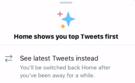 Twitter 'See Latest' option