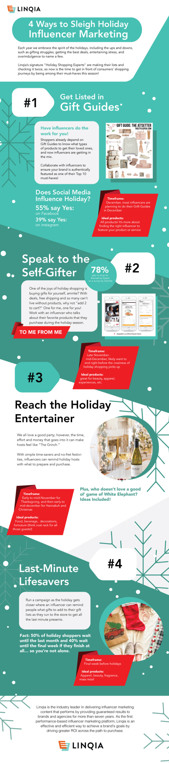 Influencer marketing for the holidays