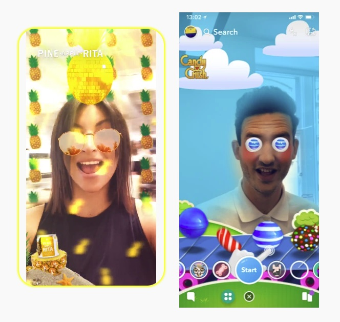 Snapchat Opens Up Lens Ads to More Businesses, Expands Monetization of Lens Games | Social Media Today