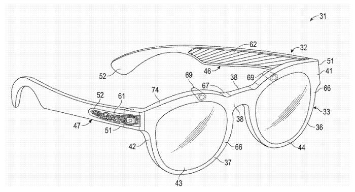 Snapchat AR glasses patent