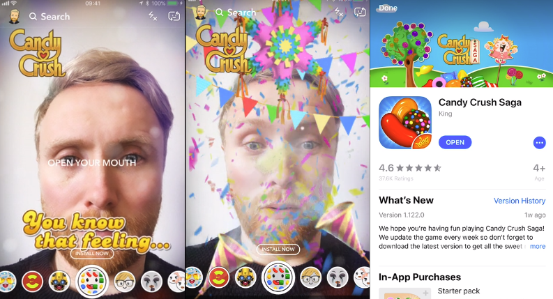 Snapchat Rolls Out New Lens-Based Ad Type, Continues to Tweak New Design | Social Media Today