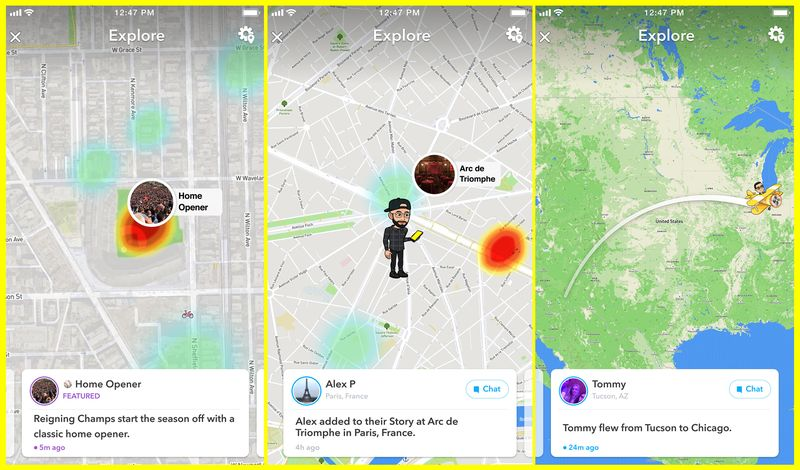 Snap Adds New Discovery Tools to Snap Map, Highlighting Happening Events | Social Media Today