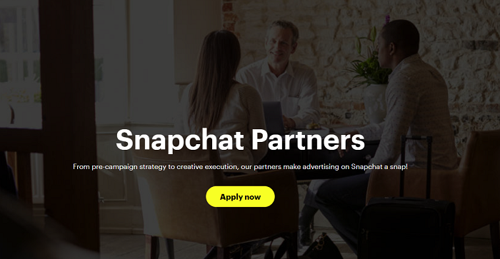 Snapchat Marketing Partner Program