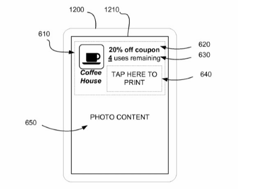 Snapchat image recognition patent