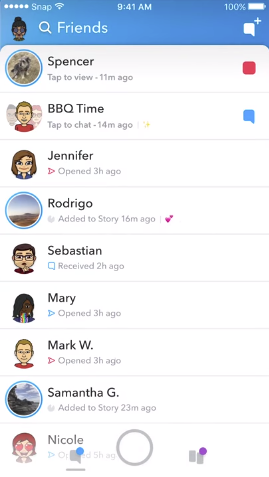 Snapchat Outlines Coming Re-Design, Which is Being Rolled Out to Some Users This Week | Social Media Today