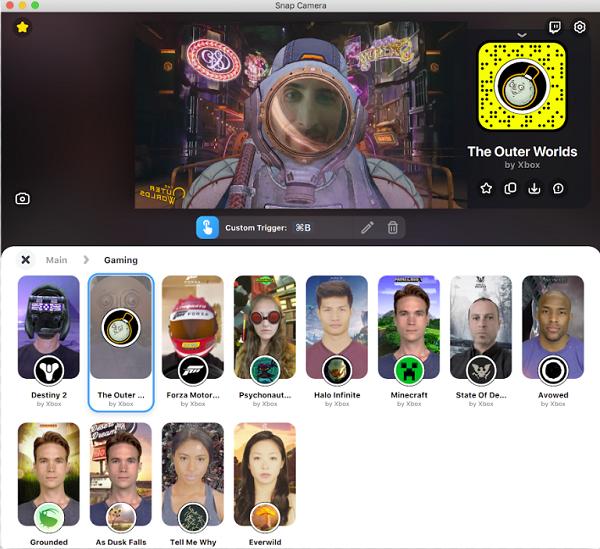 XBox Snapchat