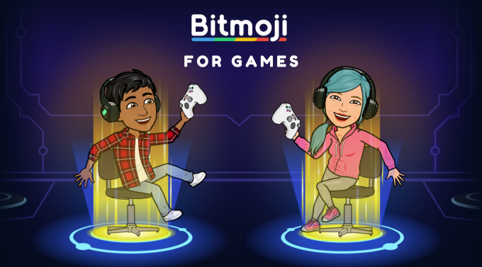 Snapchat Bitmoji for Games