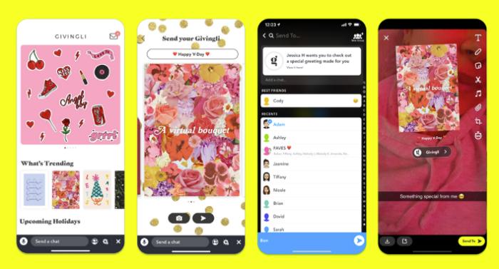 Snapchat Givingli Mini
